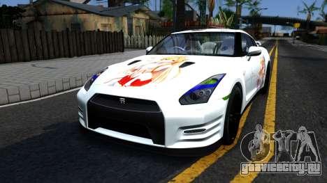 Nissan GT-R R35 - Sword Art Online для GTA San Andreas