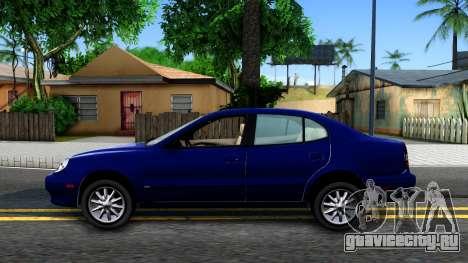 Daewoo Leganza CDX US 2001 для GTA San Andreas вид слева