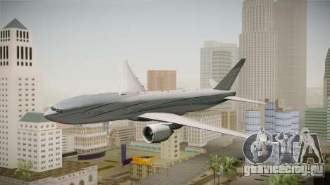 Boeing 777-2KQ VP-CAL Aviation Link для GTA San Andreas вид сзади слева