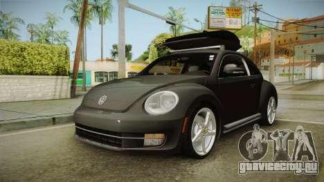 Volkswagen Beetle 2013 Daily Car для GTA San Andreas вид справа