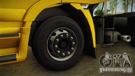 Iveco Stralis Hi-Way 560 E6 6x2 v3.0 для GTA San Andreas вид сзади