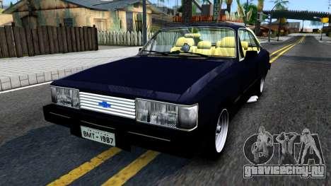 Chevrolet Opala 87 Diplomat Coupe для GTA San Andreas