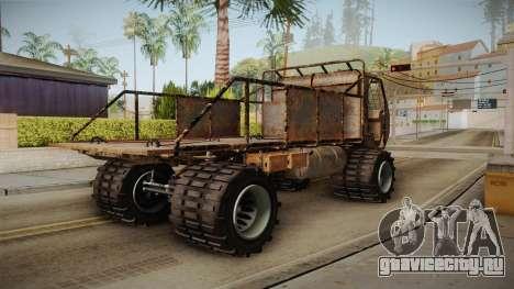 GTA 5 MTL Wastelander для GTA San Andreas вид сзади слева