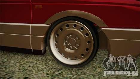 Volkswagen Passat B3 GT 2.0 для GTA San Andreas вид сзади