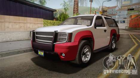 GTA 5 Declasse Granger 2-doors IVF для GTA San Andreas вид справа