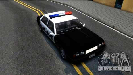 Vincent Cop для GTA San Andreas вид справа