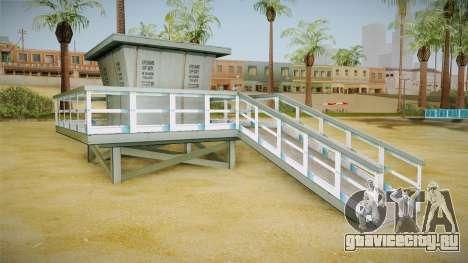 Beach of Santa Maria in HD and HQ v0.1 для GTA San Andreas