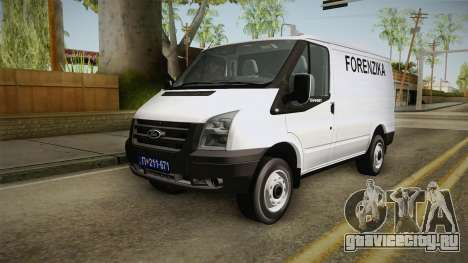 Ford Transit Forenzika для GTA San Andreas
