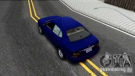 Daewoo Leganza CDX US 2001 для GTA San Andreas вид сзади