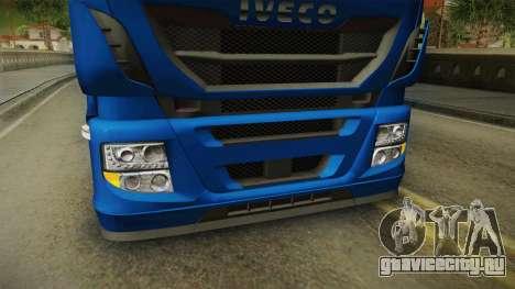 Iveco Stralis Hi-Way 560 E6 4x2 v3.2 для GTA San Andreas вид сверху