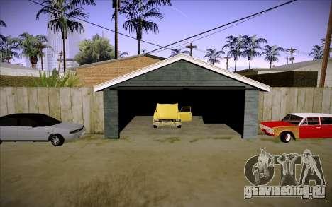 ВАЗ 2101 GVR V3 для GTA San Andreas вид снизу
