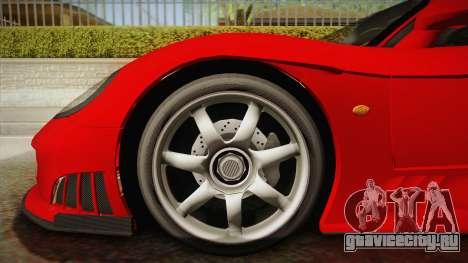 Saleen S7 для GTA San Andreas вид сзади слева