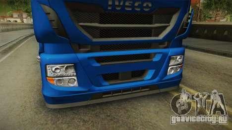 Iveco Stralis Hi-Way 560 E6 4x2 v3.2 для GTA San Andreas вид сбоку