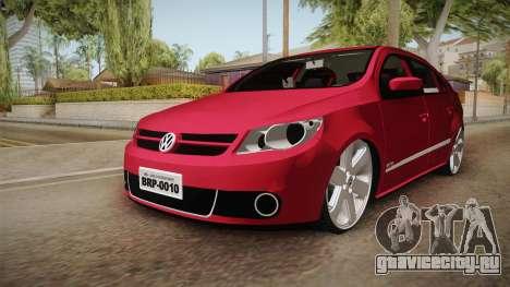 Volkswagen Voyage Fix для GTA San Andreas вид справа