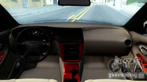 Daewoo Leganza CDX US 2001 для GTA San Andreas вид изнутри