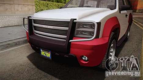 GTA 5 Declasse Granger 2-doors IVF для GTA San Andreas вид изнутри