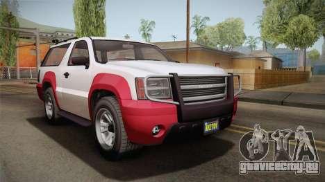 GTA 5 Declasse Granger 2-doors IVF для GTA San Andreas