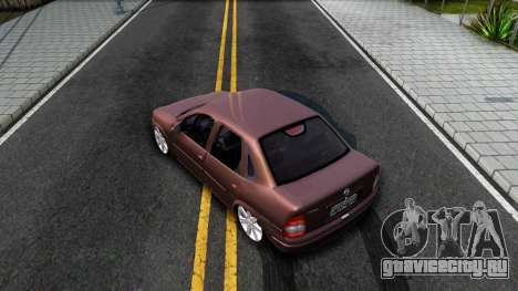 Chevrolet Corsa Sedan для GTA San Andreas вид сзади