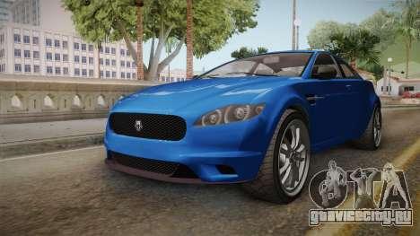 GTA 5 Ocelot Jackal 2-doors IVF для GTA San Andreas