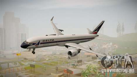 Boeing 757-200 Delta Air Lines (Widget) для GTA San Andreas