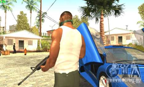 Ремастеринг Сиджея Скин 2017 для GTA San Andreas четвёртый скриншот