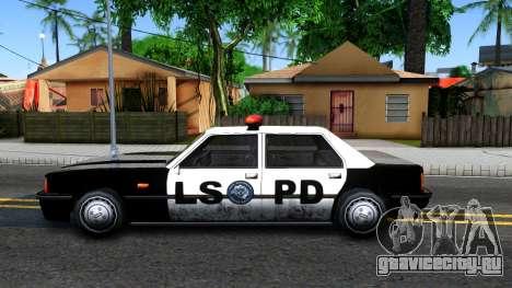 Vincent Cop для GTA San Andreas вид слева