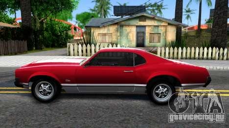 Sabre Turbo GTA 5 для GTA San Andreas вид слева
