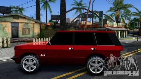 Huntley HD для GTA San Andreas вид слева