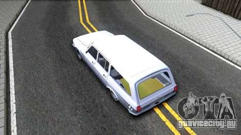 ГАЗ 310221 Facelift 3102 для GTA San Andreas вид сзади