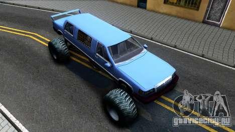 Stretch Monster Truck для GTA San Andreas вид справа