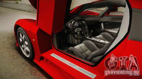 Saleen S7 для GTA San Andreas вид сбоку