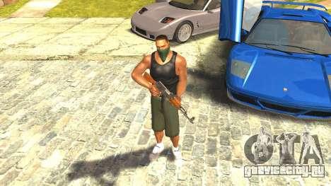 Ремастеринг Сиджея Скин 2017 для GTA San Andreas второй скриншот
