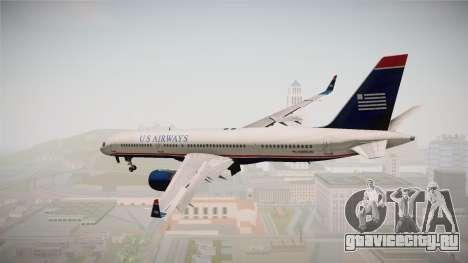 Boeing 757-200 US Airways для GTA San Andreas вид слева