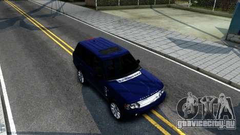 Land Rover Range Rover Supercharged для GTA San Andreas вид справа