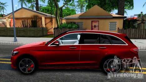Mercedes-Benz C-Class Estate 2015 для GTA San Andreas