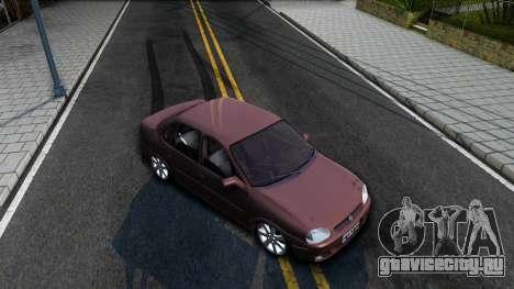Chevrolet Corsa Sedan для GTA San Andreas вид справа