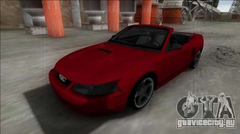 1999 Ford Mustang Cabrio для GTA San Andreas