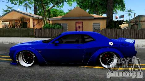 Dodge Challenger SRT8 Liberty Walk для GTA San Andreas вид слева