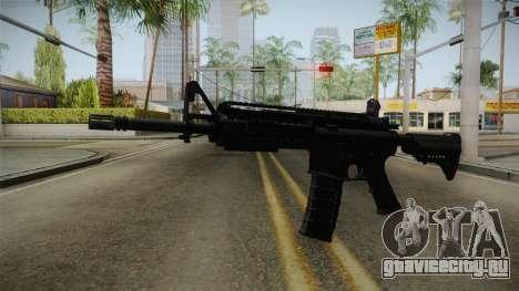 M4A1 S.I.R.S. для GTA San Andreas