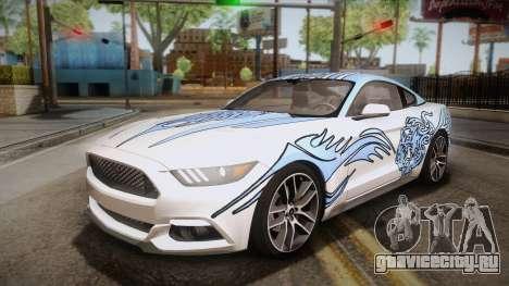 Ford Mustang GT 2015 5.0 PJ для GTA San Andreas