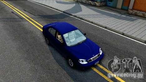 Daewoo Leganza CDX US 2001 для GTA San Andreas вид справа