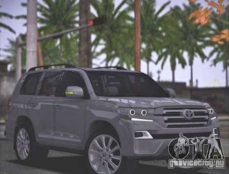 Toyota Land Cruiser 200 Sport Design для GTA San Andreas