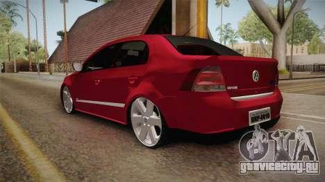 Volkswagen Voyage Fix для GTA San Andreas вид сзади слева