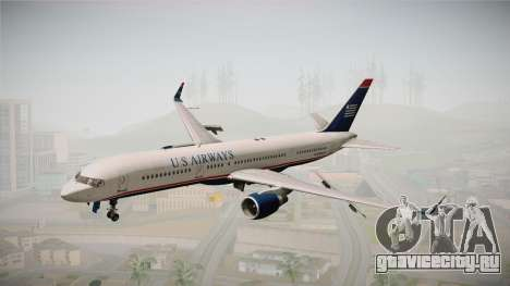 Boeing 757-200 US Airways для GTA San Andreas вид сзади слева