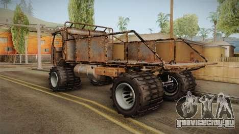 GTA 5 MTL Wastelander для GTA San Andreas вид слева