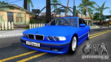 BMW 750iL E38 2001 для GTA San Andreas