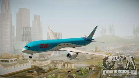 Boeing 787 TUI Airlines для GTA San Andreas вид сзади слева