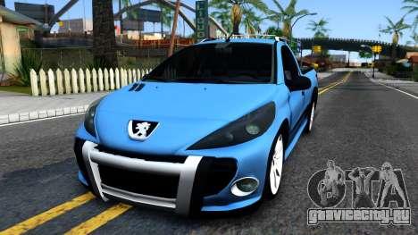 Peugeot Hoggar для GTA San Andreas