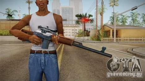 Dragunov Low Poly SA Style для GTA San Andreas третий скриншот
