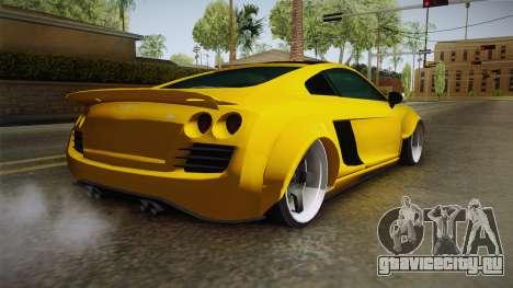 Obey 9F Custom для GTA San Andreas вид слева